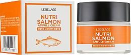 Parfüm, Parfüméria, kozmetikum Tápláló krém - Lebelage Ampule Cream Nutri Salmon