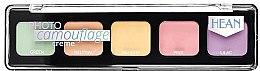 Parfüm, Parfüméria, kozmetikum Korrektor arcra - Hean Photo Camouflage Cream Concealer Palette