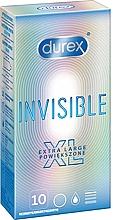 Parfüm, Parfüméria, kozmetikum Óvszer, 10 db - Durex Invisible Extra Large