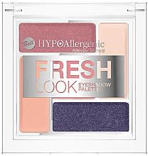 Parfüm, Parfüméria, kozmetikum Szemhéjfesték paletta - Bell Hypoallergenic Fresh Look Eyeshadow Palette