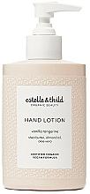 Parfüm, Parfüméria, kozmetikum Kézlotion - Estelle & Thild Vanilla Tangerine Hand Lotion