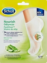 Parfüm, Parfüméria, kozmetikum Tápláló lábmaszk aloe verával - Scholl Expert Care Nourish Foot Mask
