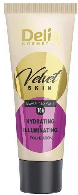 Hidratáló alapozó krém - Delia Mineral Velvet Skin