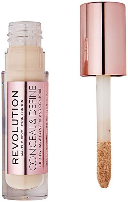 Korrektor arcra - Makeup Revolution Conceal and Define Concealer