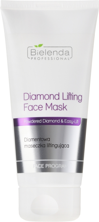 Lifting hatású gyémánt arcmaszk - Bielenda Professional Face Program Diamond Lifting Face Mask