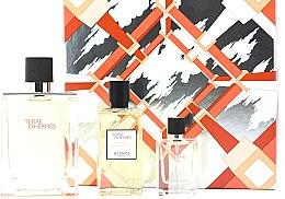 Parfüm, Parfüméria, kozmetikum Hermes Terre d'Hermes - Szett (edt/100ml + sh/gel/80ml + edt/12,5ml)