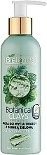 Parfüm, Parfüméria, kozmetikum Arctisztító paszta agyaggal - Bielenda Botanical Clays Vegan Face Wash Paste Green Clay