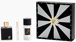 Parfüm, Parfüméria, kozmetikum Carolina Herrera CH Men - Szett (edt/100ml + edt/10ml + deo/150ml)