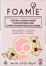 Parfüm, Parfüméria, kozmetikum Szilárd kondicionáló - Foamie Hibiskiss Conditioner Bar