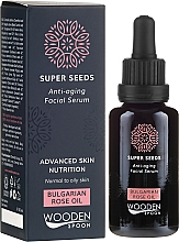 Parfüm, Parfüméria, kozmetikum Arcszérum - Wooden Spoon Super Seeds Bulgarian Rose Oil Anti-aging Facial Serum
