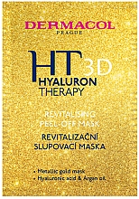 Parfüm, Parfüméria, kozmetikum Regeneráló maszk-peeling arcra - Dermacol Hyaluron Therapy 3D Revitalising Peel-off Mask