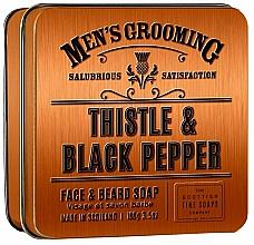 Parfüm, Parfüméria, kozmetikum Scottish Fine Soaps Men's Grooming Thistle & Black Pepper - Szappan
