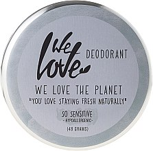 "Parfüm, Parfüméria, kozmetikum Természetes krém dezodor ""So Sensitive"" - We Love The Planet Deodorant So Sensitive"