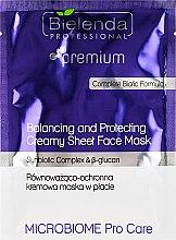 Parfüm, Parfüméria, kozmetikum Kiegyensúlyozó és védő arcmaszk - Bielenda Professional Balancing and Protectiveing Creamy Mask
