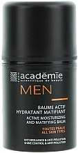Parfüm, Parfüméria, kozmetikum Aktív hidratáló mattító balzsam - Academie Men Active Moist & Matifying Balm
