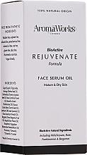 Parfüm, Parfüméria, kozmetikum Fiatalító arcszérum - AromaWorks Rejuvenate Face Serum Oil