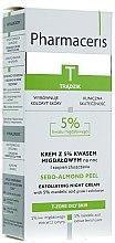 Parfüm, Parfüméria, kozmetikum Éjszakai szabályozó és tisztító arckrém - Pharmaceris T Sebo-Almond-Peel Exfoliting Night Cream