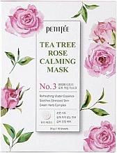 Parfüm, Parfüméria, kozmetikum Nyugtató arcmaszk - Petitfee&Koelf Tea Tree Rose Calming Mask