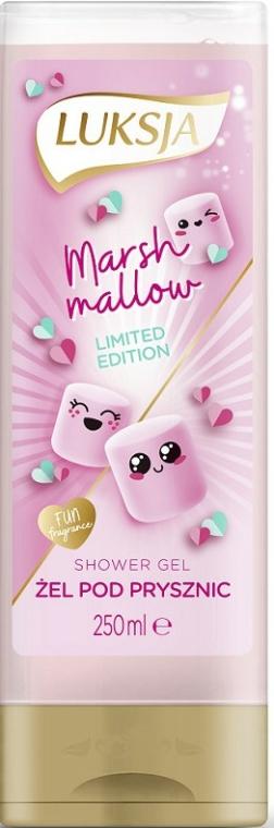 """Krém-gél tusfürdő """"Marshmallow"""" - Luksja Marshmallow Shower Gel"""