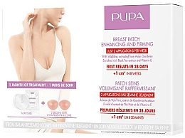 Parfüm, Parfüméria, kozmetikum Mellfeszesítő és -nagyobbító tapaszok - Pupa Breast Patch Enhancing and Firming Set