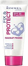 Parfüm, Parfüméria, kozmetikum Arc primer - Rimmel Fix & Protect Makeup Primer SPF25
