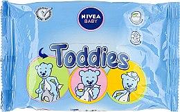 Parfüm, Parfüméria, kozmetikum Baba nedves törlőkendő - Nivea Baby Toddies Multifunctional Napkins