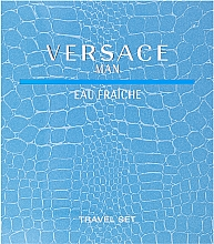 Versace Man Eau Fraiche - Szett (edt/100ml + sh/gel/100ml) — fotó N1