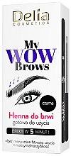 Parfüm, Parfüméria, kozmetikum Henna szemöldökre - Delia My Wow Brows