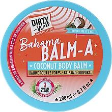 Parfüm, Parfüméria, kozmetikum Kókuszos testbalzsam - Dirty Works Bahama Balm-A Coconut Body Balm