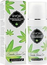 Parfüm, Parfüméria, kozmetikum Kender tápláló krém őssejtekkel - Ryor Cannabis Derma Care Nourishing Hemp Cream With Stem Cells