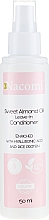 Parfüm, Parfüméria, kozmetikum Hajkondicionáló - Nacomi No-Rinse With Sweet Almond & Hyaluronic Acid Conditioner