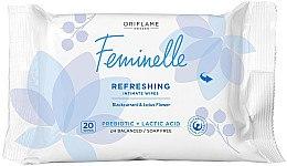 Parfüm, Parfüméria, kozmetikum Frissítő intim törlőkendő - Oriflame Feminelle Refreshing Intimate Wipes