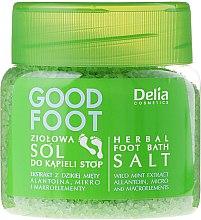 Parfüm, Parfüméria, kozmetikum Láb sófürdő - Delia Cosmetics Good Foot Herbal Foot Bath Salt