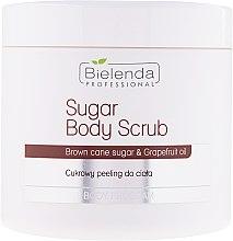 Parfüm, Parfüméria, kozmetikum Cukros testradír - Bielenda Professional Body Program Sugar Body Scrub
