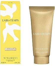 Parfüm, Parfüméria, kozmetikum Nina Ricci LAir du Temps Body Lotion - Testápoló lotion