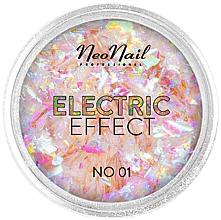 Parfüm, Parfüméria, kozmetikum Körömdíszítő csillám - NeoNail Professional Electric Effect Flakes