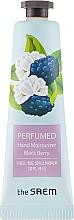 """Parfüm, Parfüméria, kozmetikum llatosított kézkrém """"Földi szeder"""" - The Saem Perfumed Black Berry Hand Moisturizer"""
