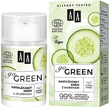 Parfüm, Parfüméria, kozmetikum Hidratáló krém uborkával - AA Go Green