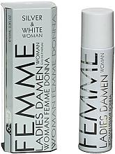 Parfüm, Parfüméria, kozmetikum Omerta Silver & White - Eau De Parfum