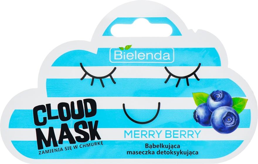 """""""Bogyó"""" habzó maszk - Bielenda Cloud Mask Merry Berry"""