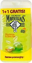 """Parfüm, Parfüméria, kozmetikum Készlet """"Mandarin és Lime"""" - Le Petit Marseillais (sh/gel/250ml + sh/gel/250ml)"""
