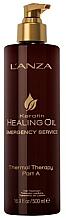 Parfüm, Parfüméria, kozmetikum Hőterápia (A lépés) - L'anza Keratin Healing Oil Emergency Service Thermal Therapy Part A