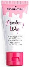 Parfüm, Parfüméria, kozmetikum Primer arcra - I Heart Revolution Face Primer Strawberry Whip