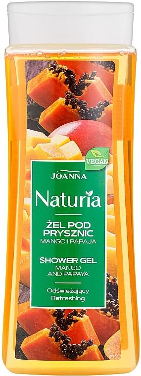 "Tusfürdő ""Mangó és papaya"" - Joanna Naturia Mango and Papaya Shower Gel"