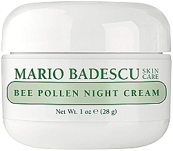 Parfüm, Parfüméria, kozmetikum Éjszakai krém méh pollennel - Mario Badescu Bee Pollen Night Cream
