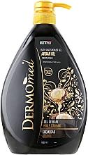 "Parfüm, Parfüméria, kozmetikum Tusfürdő és fürdőhab ""Argánolaj"" - Dermomed Bath And Shower Gel Argan Oil"