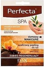 Parfüm, Parfüméria, kozmetikum Regeneráló kézkrém-szérum - Perfecta Spa Hand Peeling