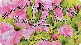 """Parfüm, Parfüméria, kozmetikum Természetes szappan """"Rózsacsokór"""" - Florinda Sapone Vegetale Vegetal Soap Rose Bouquet"""
