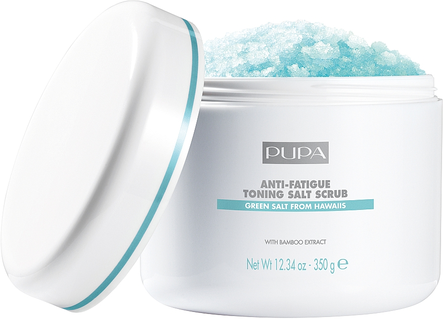 "Sós testradír ""Tonizáló és relaxáló"" - Pupa Home Spa Anti-Fatigue Toning Salt Scrub"
