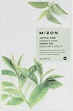Parfüm, Parfüméria, kozmetikum Szövetmaszk zöld tea kivonattal - Mizon Joyful Time Green Tea Essence Mask